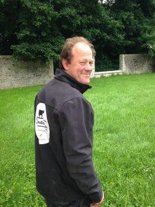Yves de Fromentel paysan à Pécy 77, gérant de la SARL La Fromentellerie