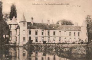 Carte Postale du château de Beaulieu à Pécy en Seine-et-Marne