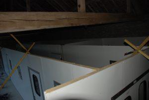 Salles d'affinage, laverie et chambre froide