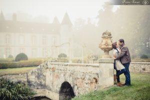 Façade arrière du château de Beaulieu à Pécy
